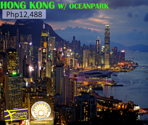 Travel Packages To Hong Kong From Manila